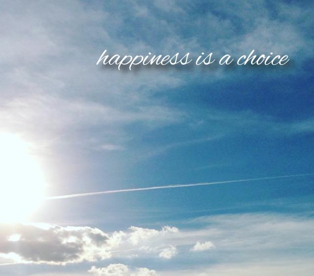 bonheur choix heureux