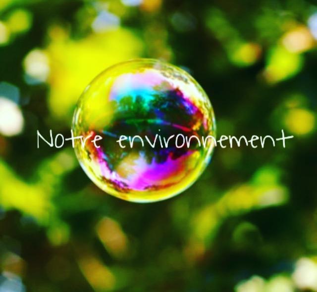 Notre environnement notre bulle