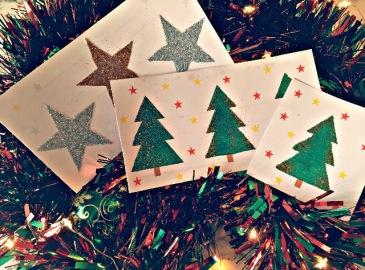 Carte à gratter de Noël