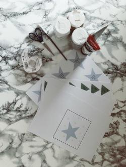 DIY carte à gratter de Noël